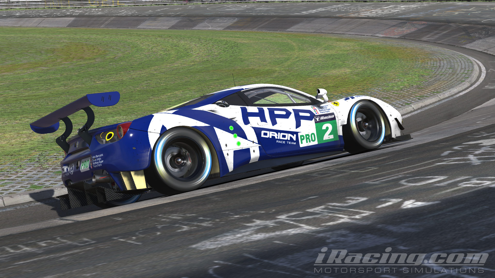 Fulvio Barozzini wins the iRacing IMSA Championship!